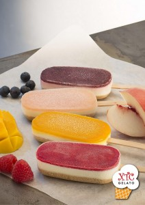 XTC Gelato logo - cheesecake stick - paper - 240216